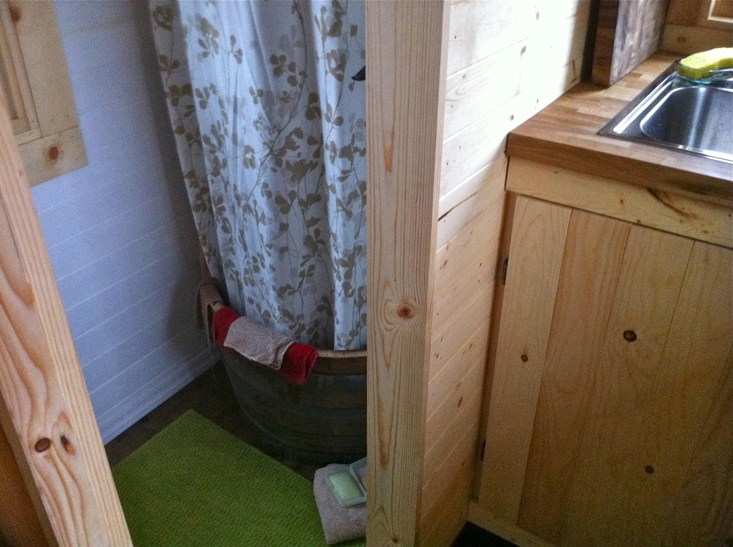 Bathroom  The Tiny Tack House