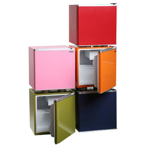 Colorful Compact Fridge  Grassrootsmoderncom