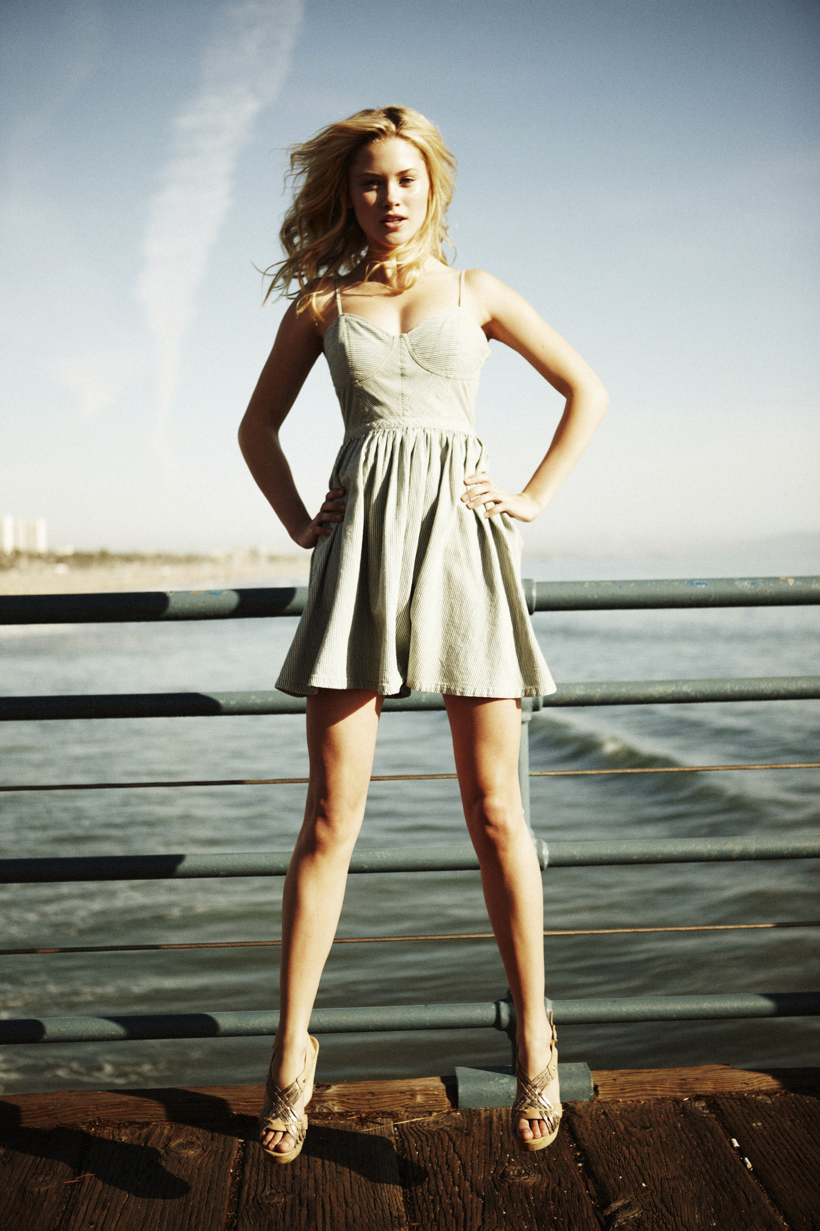 FORD Model Malibu Beach Shoot with Ginny Gardner  Amy Clarke