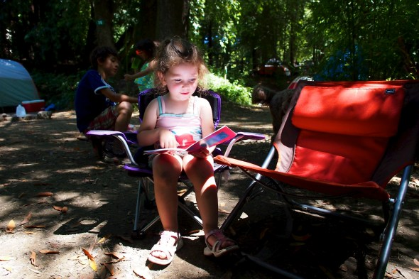 Forestville, CA Hilton Park Campground camping with kids