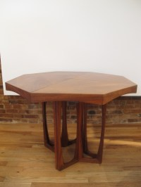 MID CENTURY HEXAGON SHAPED DINING TABLE Images - Frompo