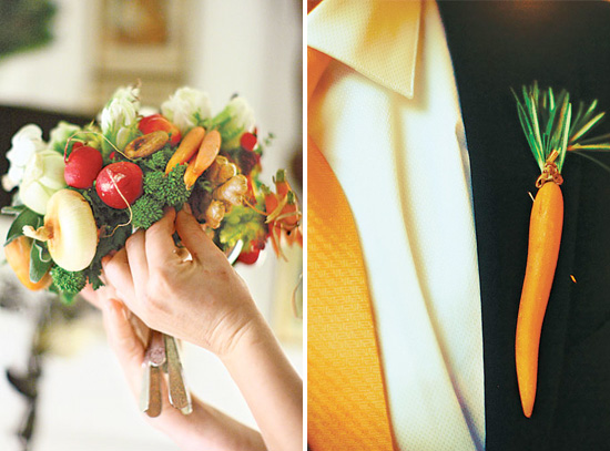 A Wedding Bouquet Like You've Never Seen Before . . . With