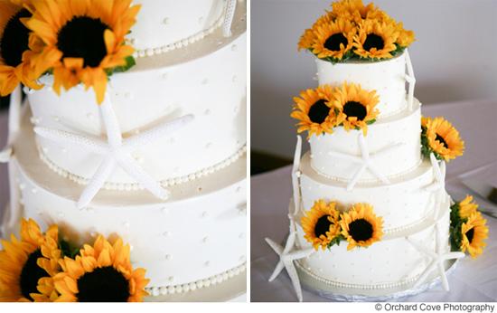 Top 5 Beach Wedding Cake Ideas