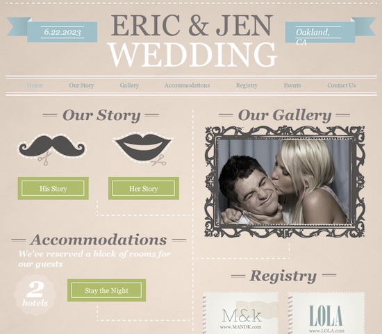 Top 5 Reasons Why You Should Build Your Wedding Web Site with Wixcom