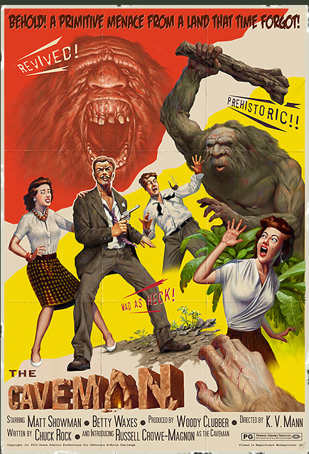 Geek Art Awesome Original Scifihorror Bmovie Posters