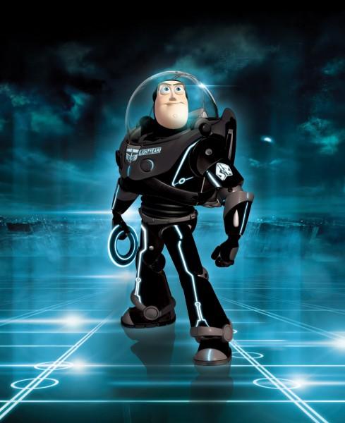 Buzz Lightyear Enters The World Of TRON LEGACY GeekTyrant