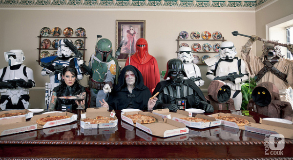 STAR WARS Pizza Party And Photo Shoot GeekTyrant