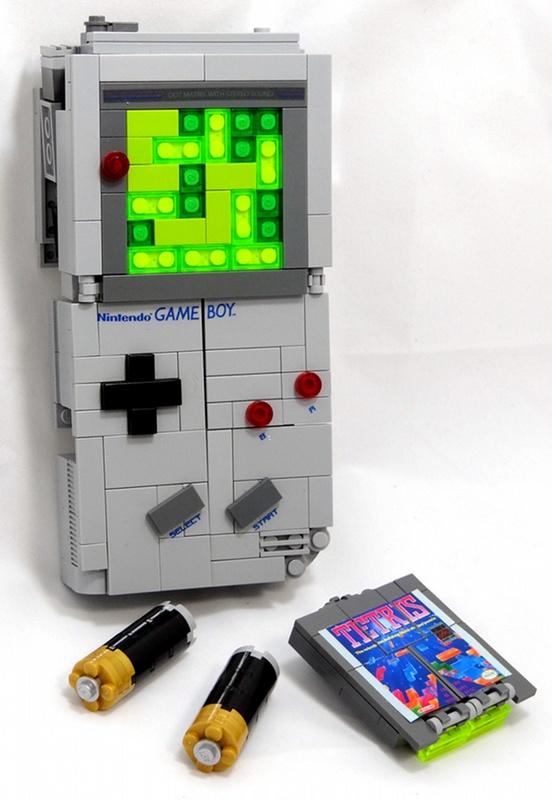 Awesome Lego Transformer Game Boy Geektyrant