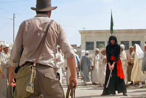 Image result for RAIDERS OF THE LOST ARK SWORDSMAN