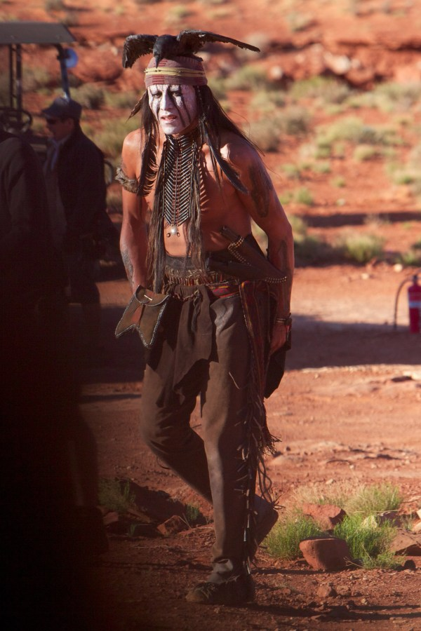 The Lone Ranger Johnny Depp as Tonto