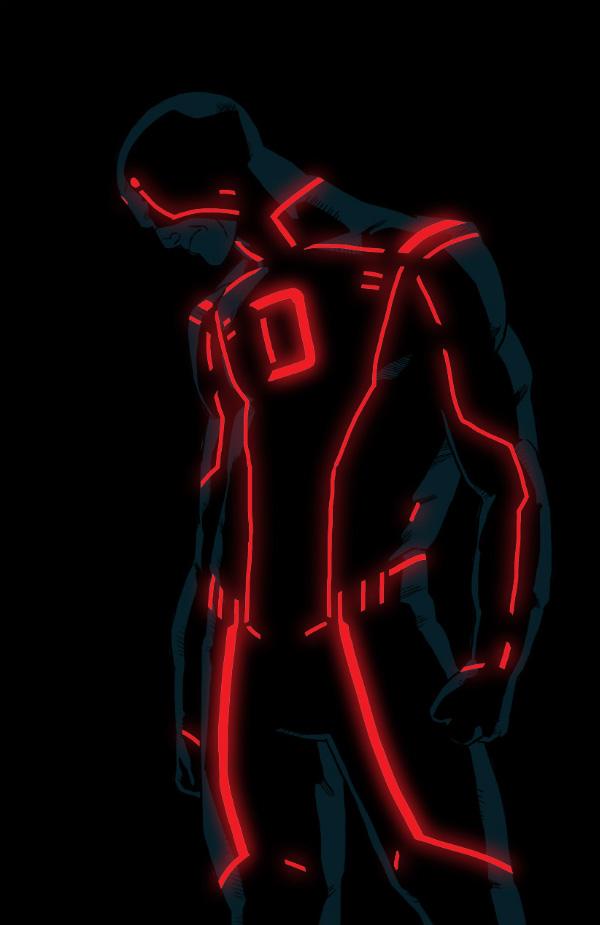 Tron Desktop Wallpaper 3d 23 Tron Style Marvel Characters By Kristafer Anka Geektyrant