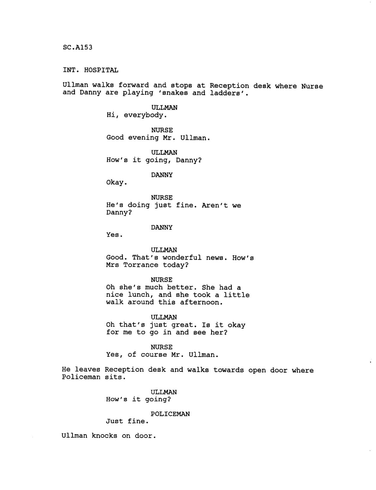 Stanley Kubrick's Original Hopeful Ending To THE SHINING