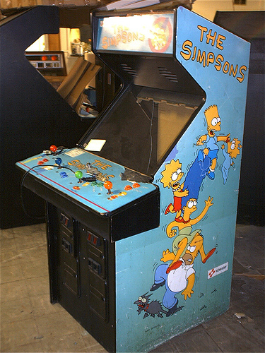 SIMPSONS Arcade Game Coming To Home Consoles  GeekTyrant