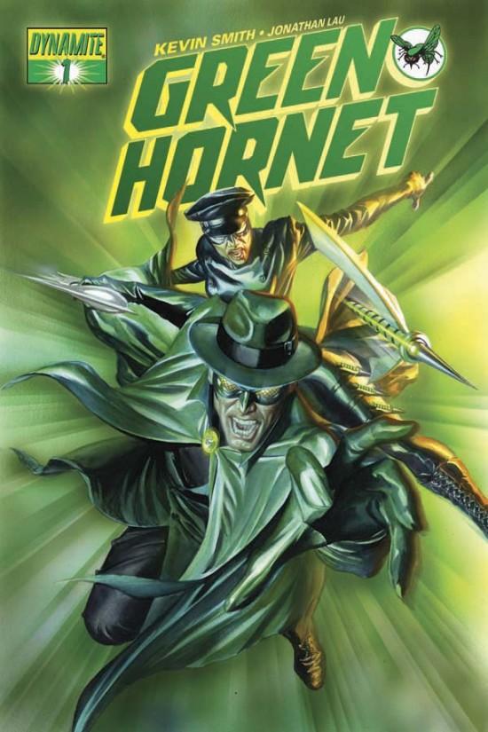 Cover Art For Kevin Smiths GREEN HORNET Comic Book