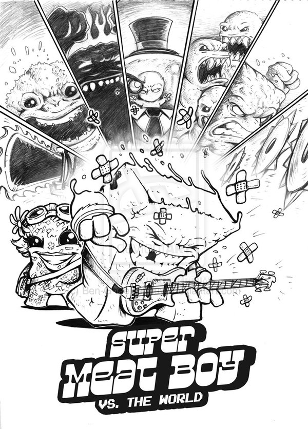 SUPER MEAT BOY: Against the World in this Scott Pilgrim