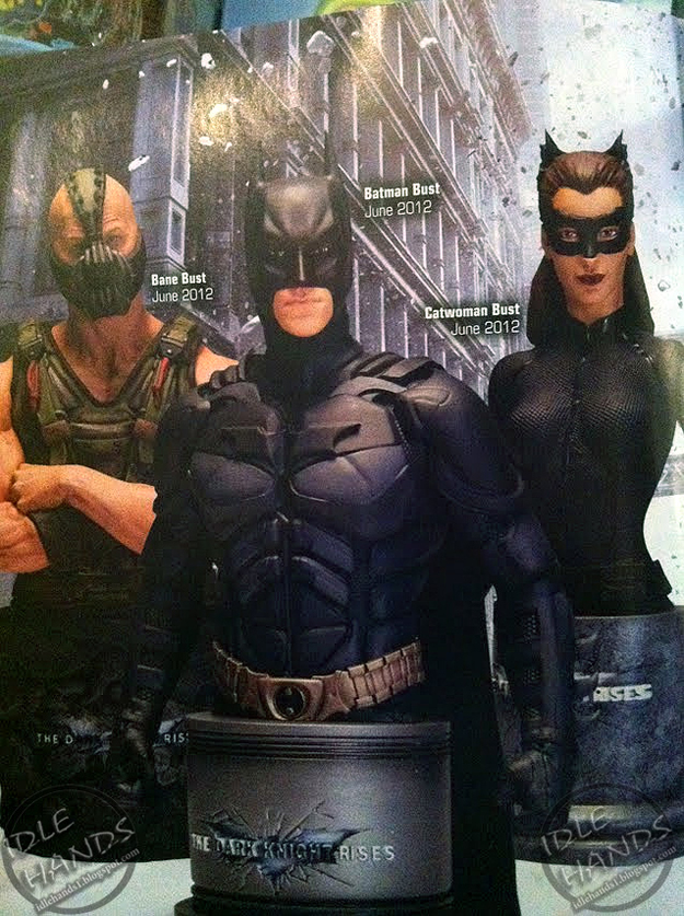 THE DARK KNIGHT RISES  Batman Bane and Catwoman Toys