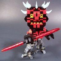 Darth Maul Cyborg LEGO Model  GeekTyrant