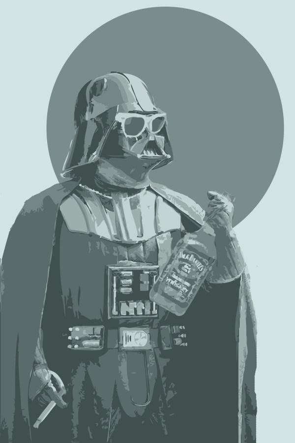 Star Wars Darth Vader Art