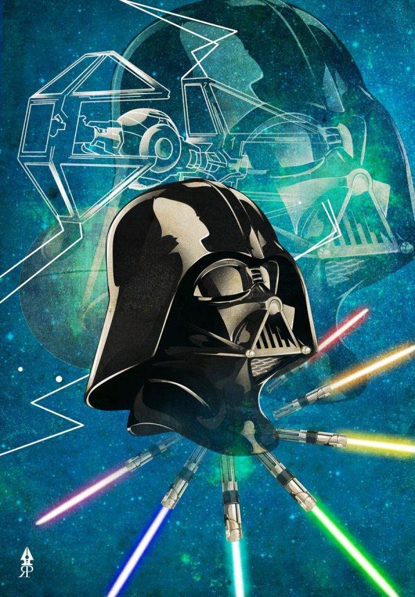 Star Wars - Darth Vader Poster Art Geektyrant