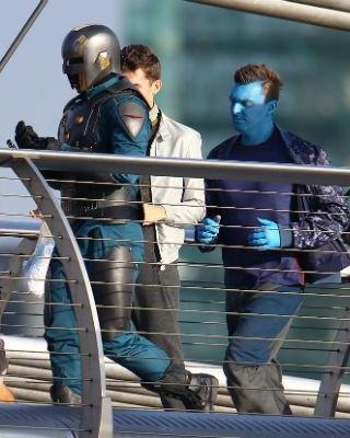 Guardians Of The Galaxy Nova Corps Set Photos Geektyrant