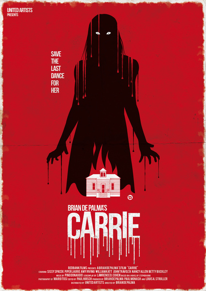 Great Horror Movie Poster Art  Halloween Carrie and More  GeekTyrant