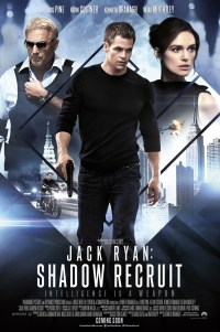 Poster for 2014 action thriller Jack Ryan: Shadow Recruit