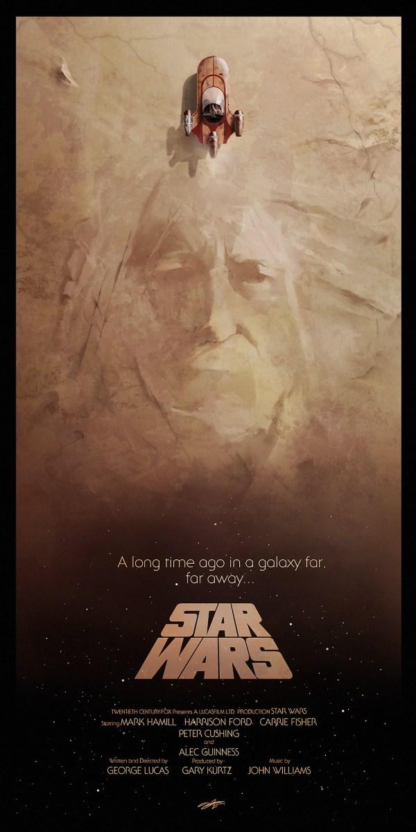 Stunning Star Wars Trilogy Poster Art Geektyrant