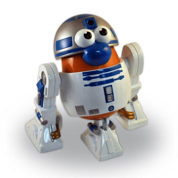 Star Wars . Potato Head R2-d2 Darth Vader Storm