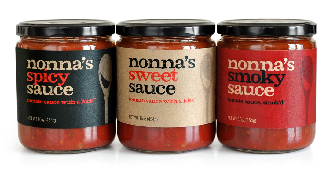 NONNA'S ARTISANAL TOMATO SAUCES by CITY SAUCERY