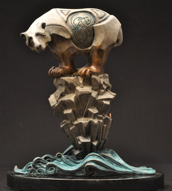 Polar Bear Sculpture Bronze