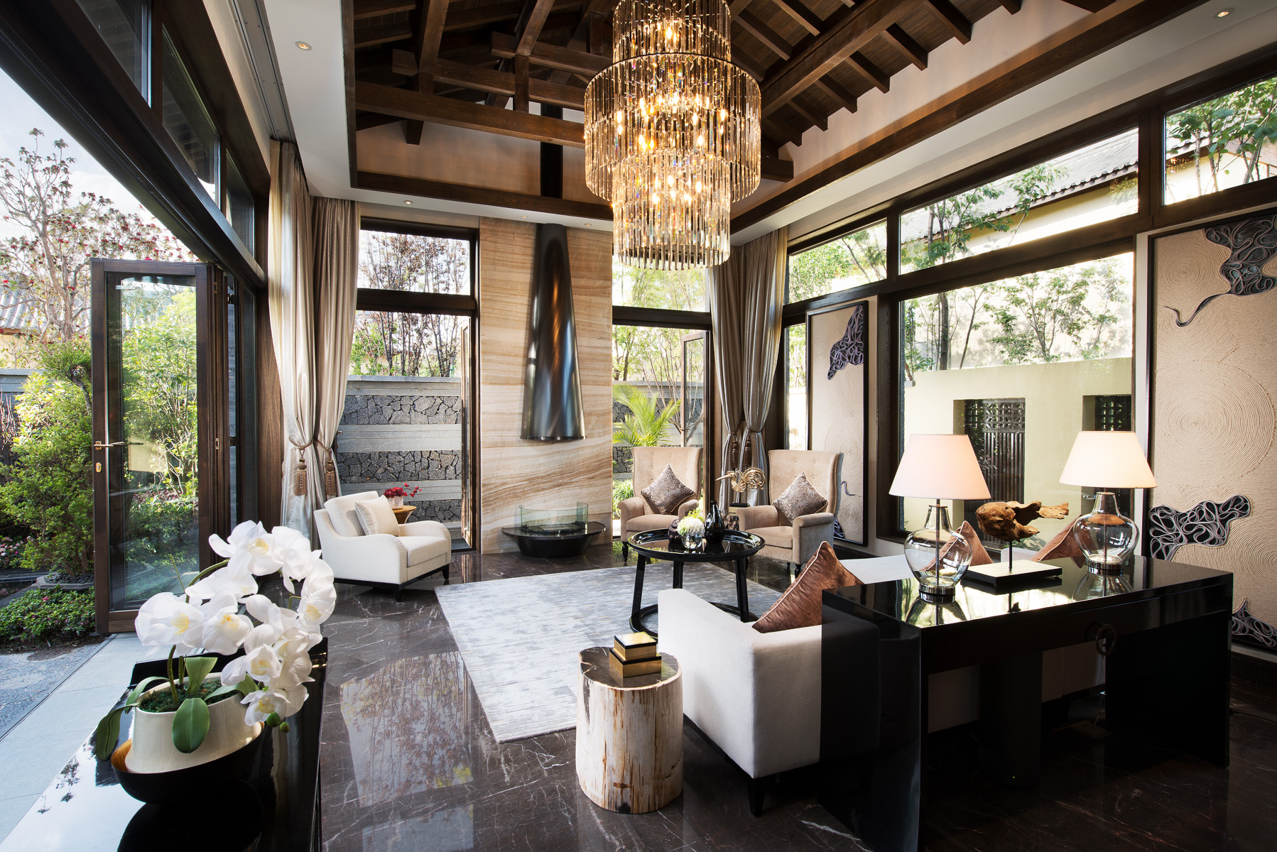 living room space traditional rooms uk interiors 内景 / exteriors 外景 — limelight studio ...