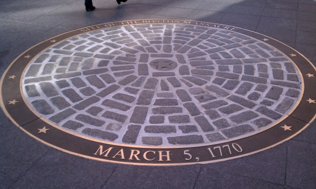 Resultado de imagen de site of boston massacre