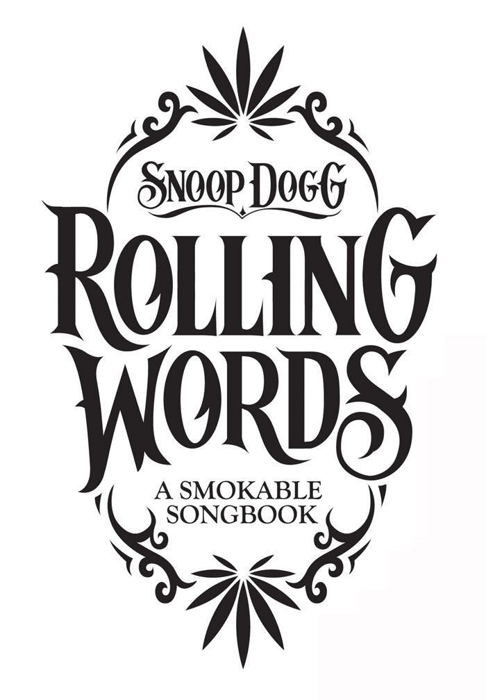 Rolling Words: Snoop Dogg's Smokable Book — The Dieline