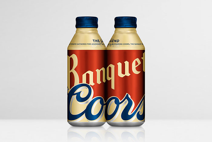 Coors Banquet Beer Limited Edition  The Dieline
