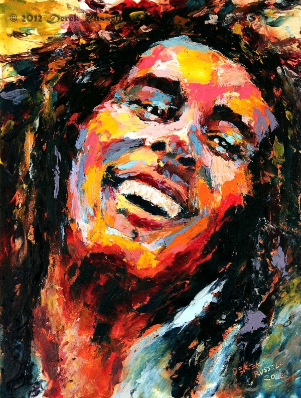 Bob Marley Artists Paintings