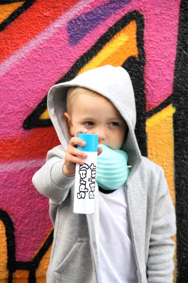Graffiti Artist Costume And Play Diy Kids