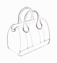 handbag drawing Gallery