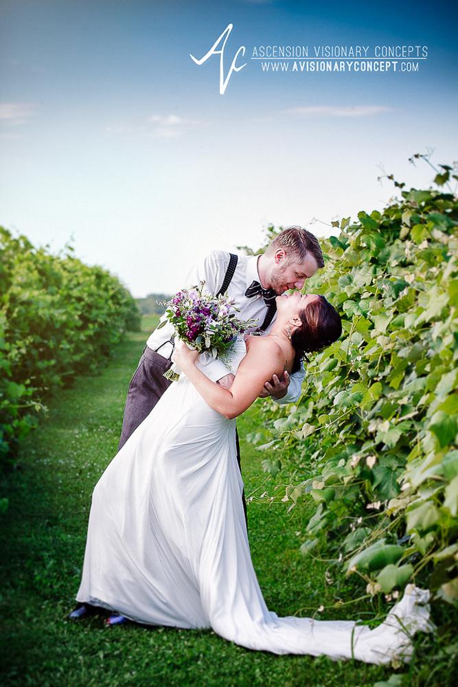 Buffalo Wedding Photography Vizcarra Vineyards  Becker Farms