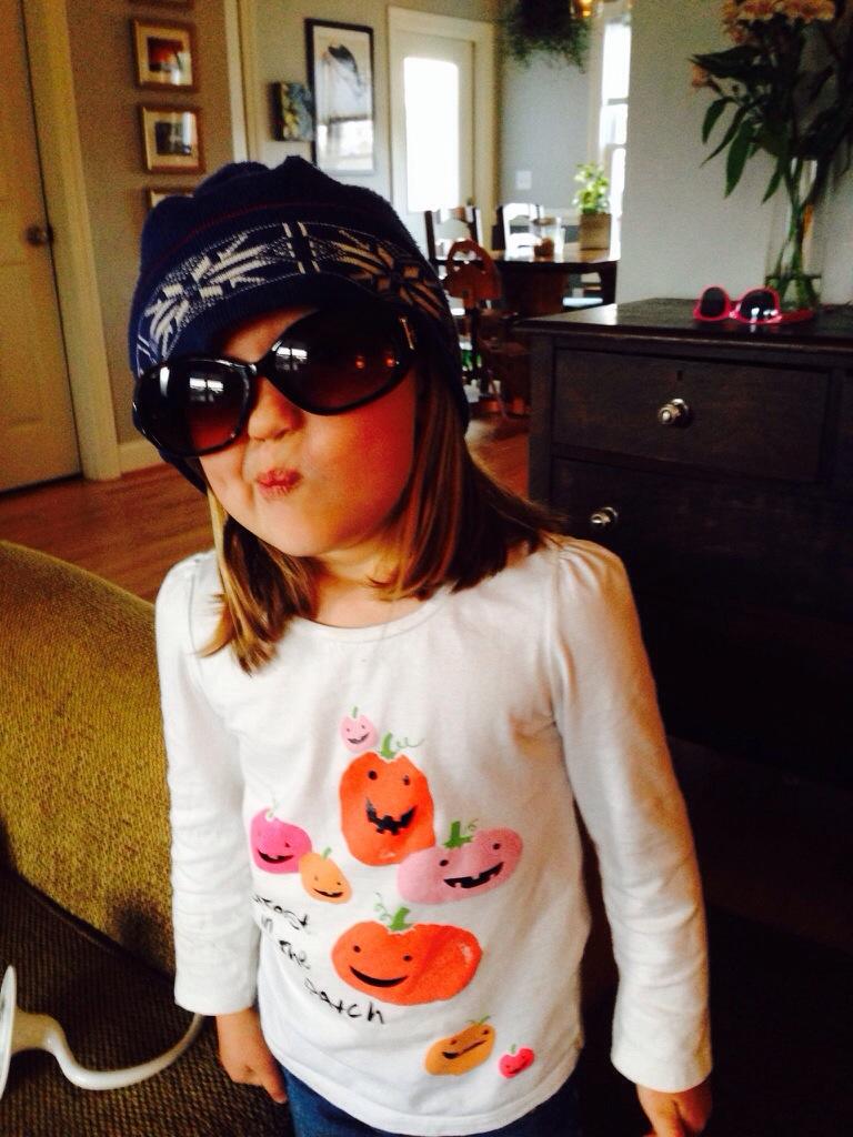 eleanor in sunglasses