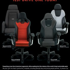 Recaro Office Chair Modern Style Adirondack Chairs The Robb Report Helps Launch Collection Advertisement
