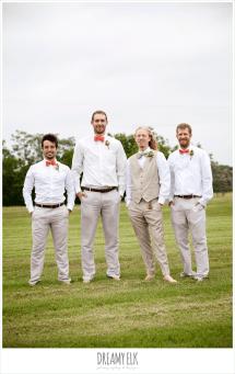 Barefoot Wedding Groomsmen