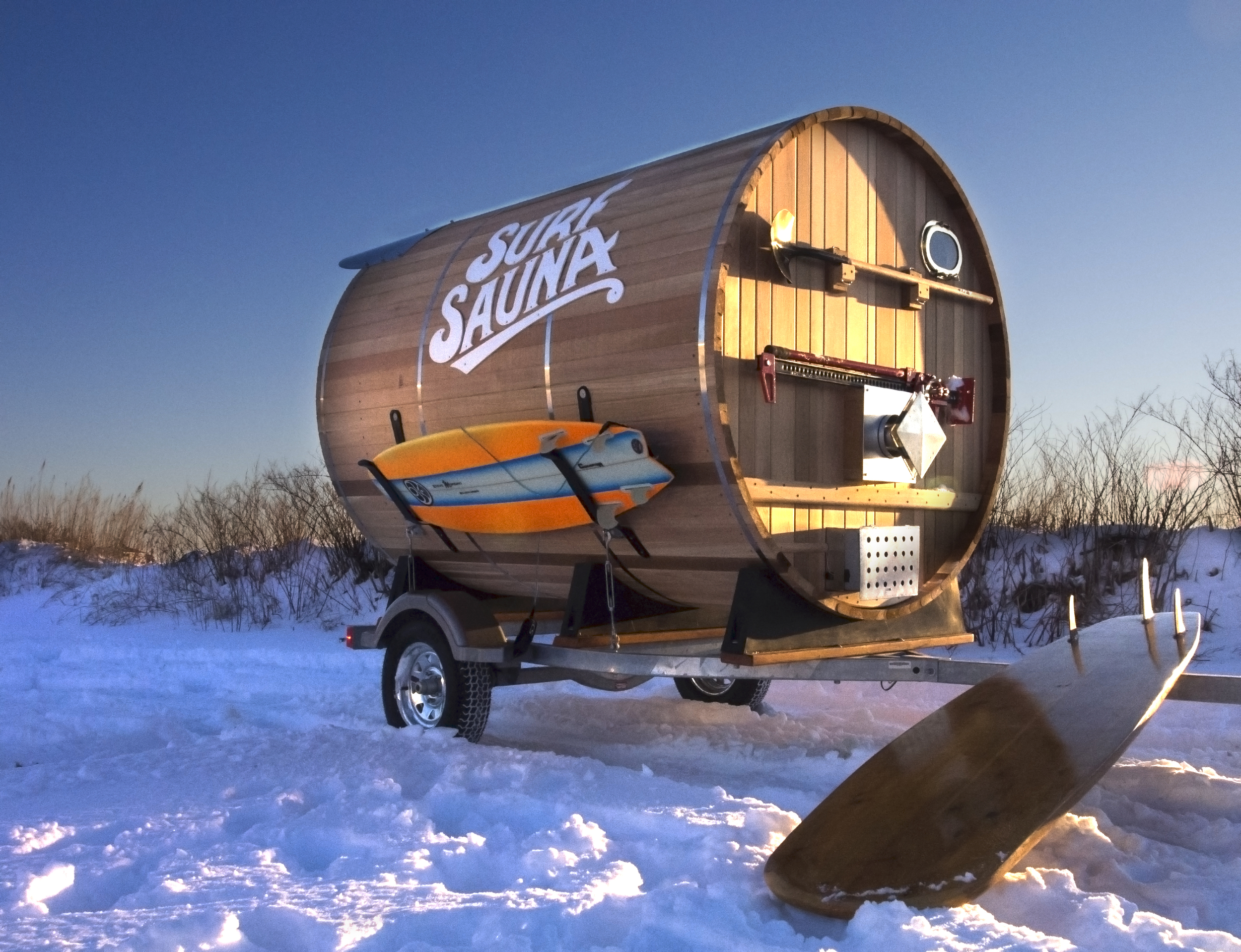 surf sauna eco design