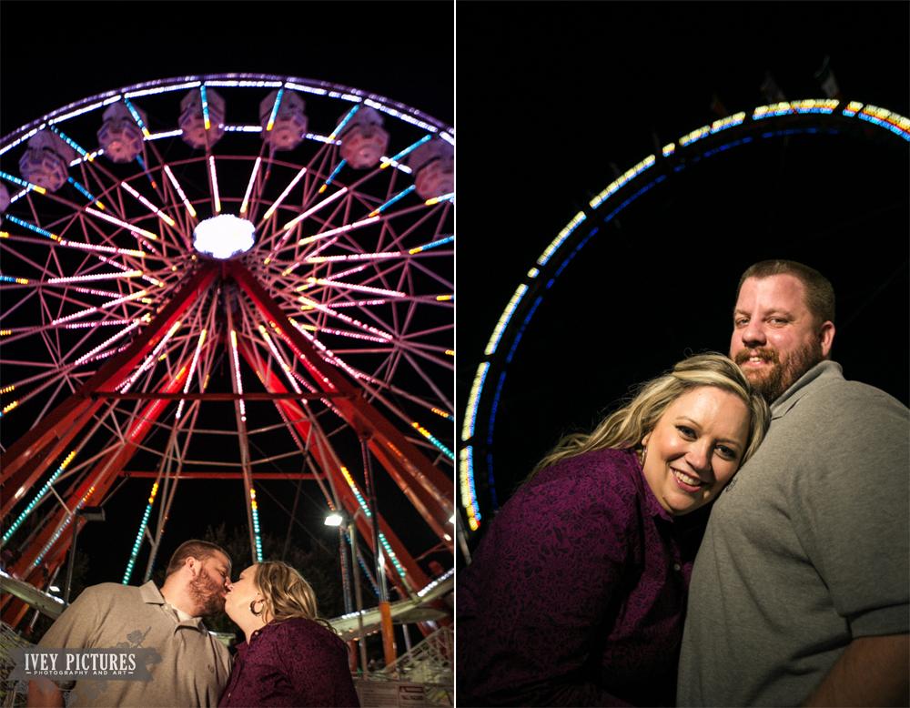 Engagement Session At The Jacksonville Fair Jacksonville