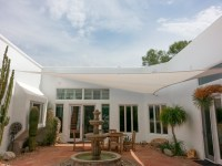 Shade Sails | Custom Tension Structures | Fabric Sails ...