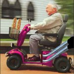 Old Dude on a Scooter