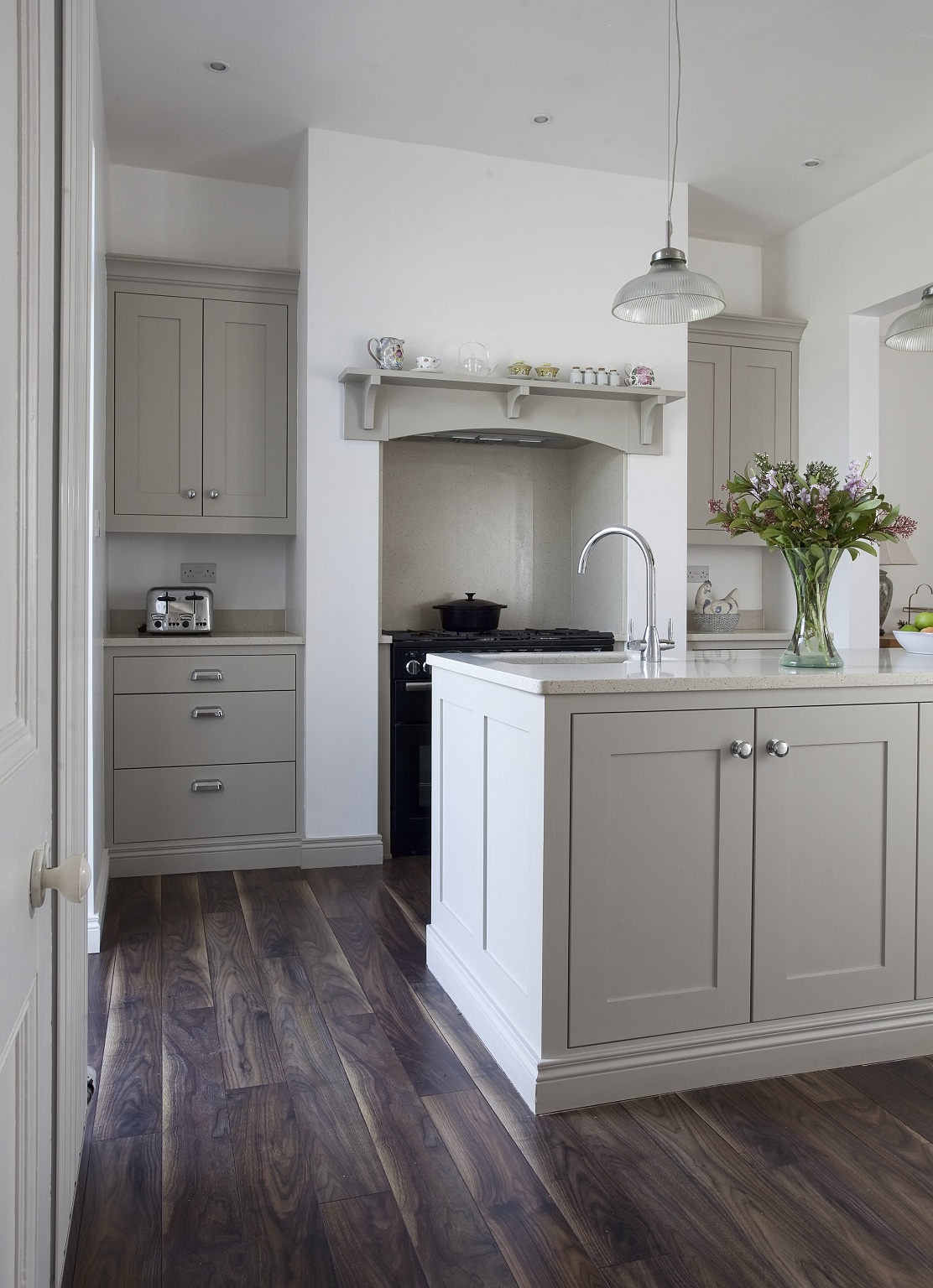 Modern Country Style Colour Study Farrow And Ball Hardwick White ...