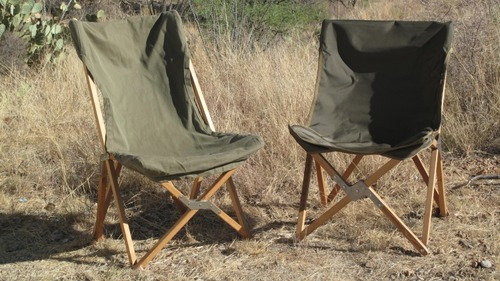 wood camp chair outdoor chairs for balcony a legendary resurrected exploring overland the south african left its offspring right