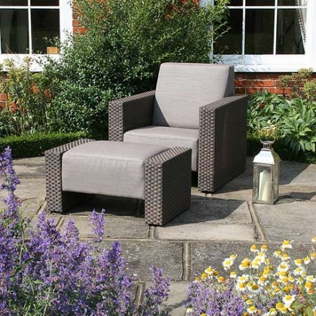 all weather garden chairs rocking chair cover furniture by bridgman heart home in addition to the rattan also sell timber and stainless steel sets these contemporary loungers can be left out year