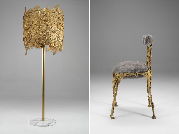 campana brothers favela chair white throne brazilian baroque design hunter the in 1991 made from scraps of wood found a sao paulo slum with this new collection they have introduced strongly theatrical and