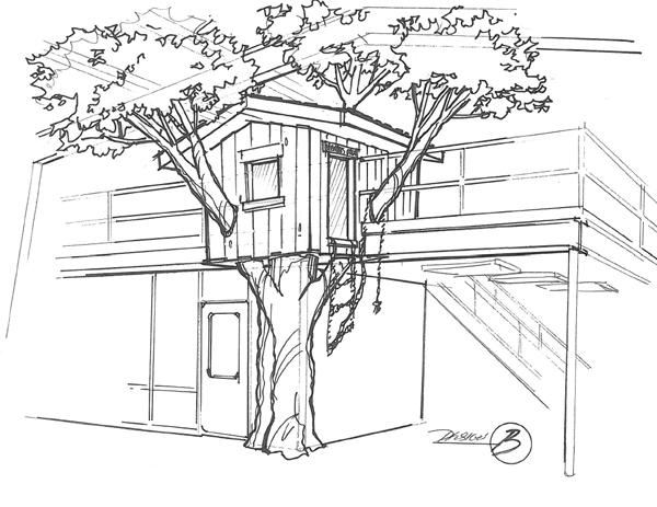 Kurt's treehouse dreams — Imagination Corporation
